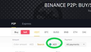 Binance withdraw p2p step 7