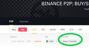 binance withdraw p2p step 8