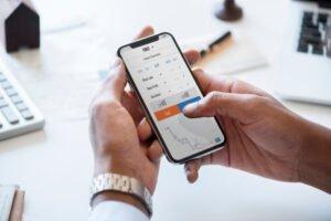 businessman-checking-stock-market-online